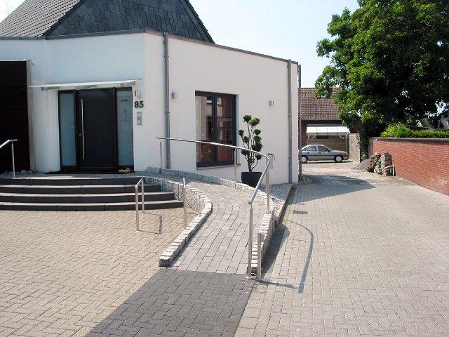 Barrierefreier Zugang bei Wendland Bestattungen in Herne