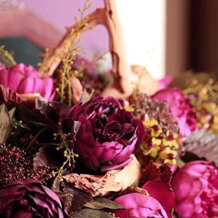 Blumenarrangements bei Wendland Bestattungskultur